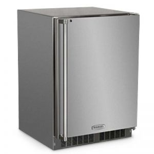 Photo of 24 inch Outdoor Refrigerator - Stainless Steel Cabinet and Solid Stainless Steel Door w/ Lock