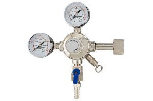 3 Photo of Upgrade to Double Gauge Regulator with 3 Way Air Distributor