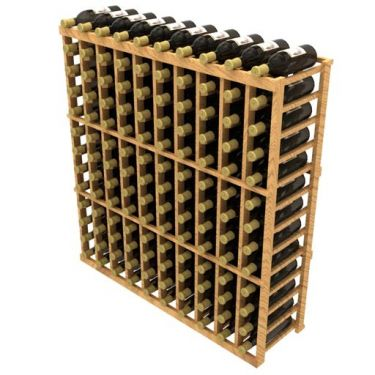 Stackable Ten Column Wine Rack