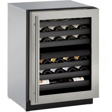 U Line 3000 Series 3024zwcs 00b 24 Quot 43 Bottle Wine Captain