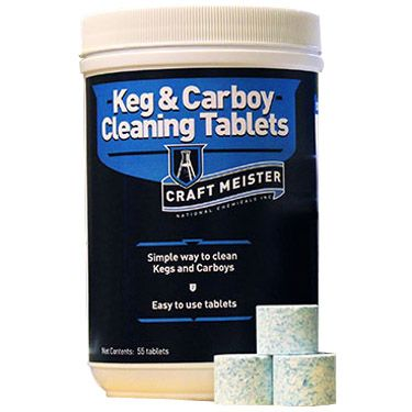 Keg & Carboy Cleaning Tabs