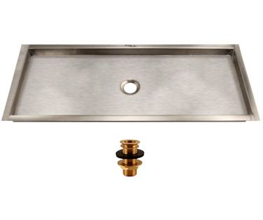 14 1/8 flush mount drip tray