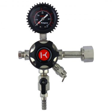 Kegco LHU51 Regulator Front View