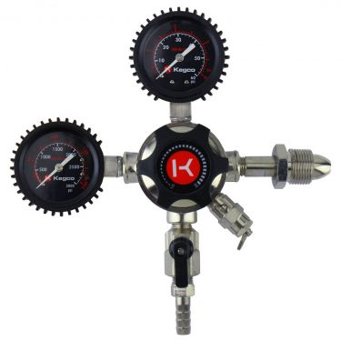 Kegco LHU5N Regulator Front View