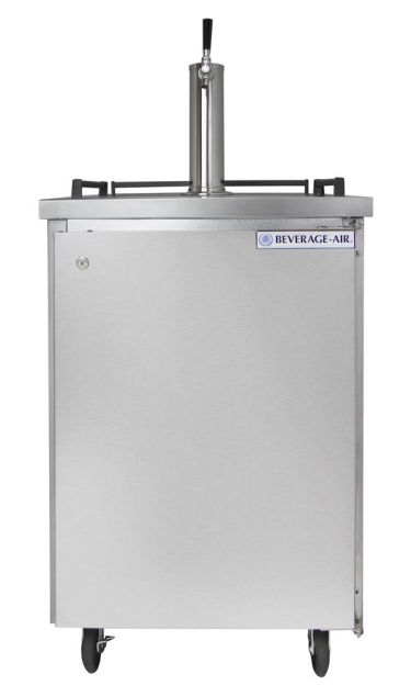 Beverage Air Single Stainless