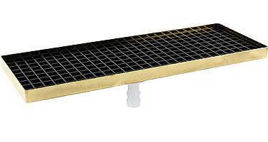 Dt 7515 Po 15 Quot Surface Mount Brass Drip Tray Push On