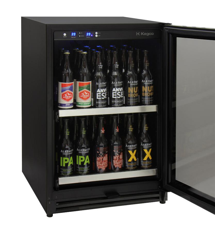 Kegco Vscb 24ssrn 24 Wide Undercounter Craft Large Format Beer