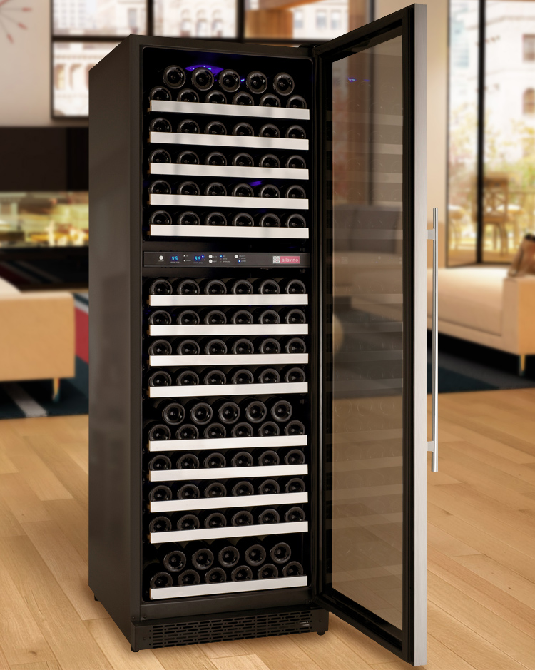Allavino Vswr172 2ssrn Flexcount Series 172 Bottle Dual Zone Wine Refrigerator With Right Hinge Beveragefactory Com