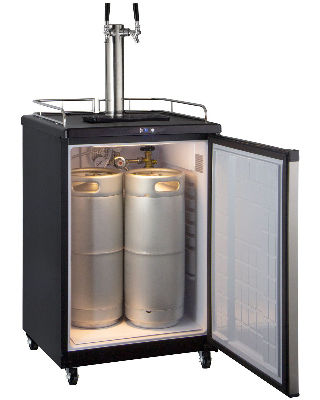 Kegco Z163s 2nk Digital Dual Tap Faucet Keg Beer Dispenser